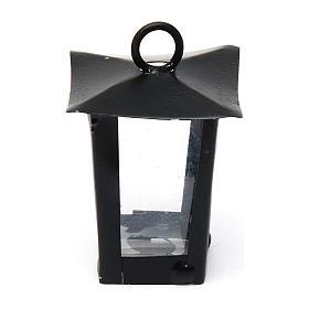 Luzes e Lamparinas para o Presépio: Lanterna presépio altura real 4 cm