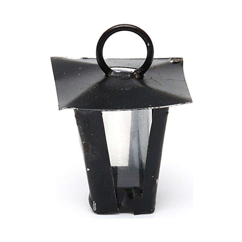 Lantern for Nativity Scene real height 2 cm - 12V 4