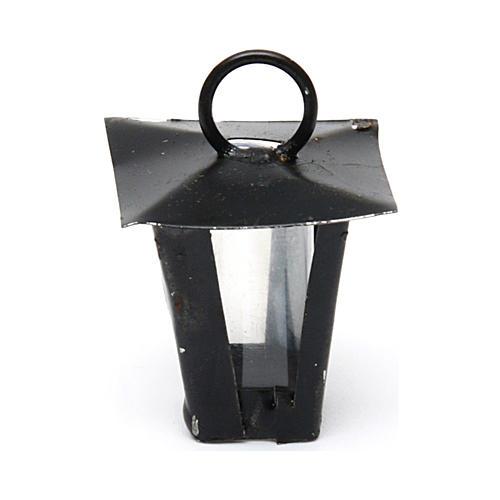 Lantern for Nativity Scene real height 2 cm - 12V 1