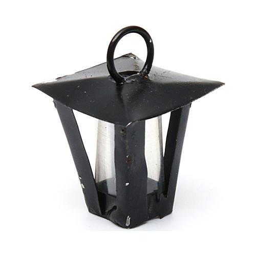 Lantern for Nativity Scene real height 2 cm - 12V 2