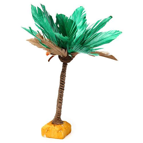 Palma bicolore h reale 22 cm 2