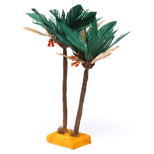 Palme presepe Napoli fai da te h reale 30 cm 2