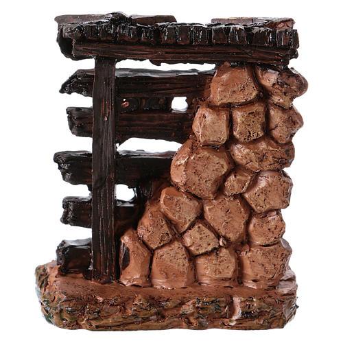 Musician's rack 5x5x3 cm in resin for Nativity Scene 2