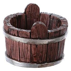 Oval Tub in Resin 4x5x5 cm for nativity s2
