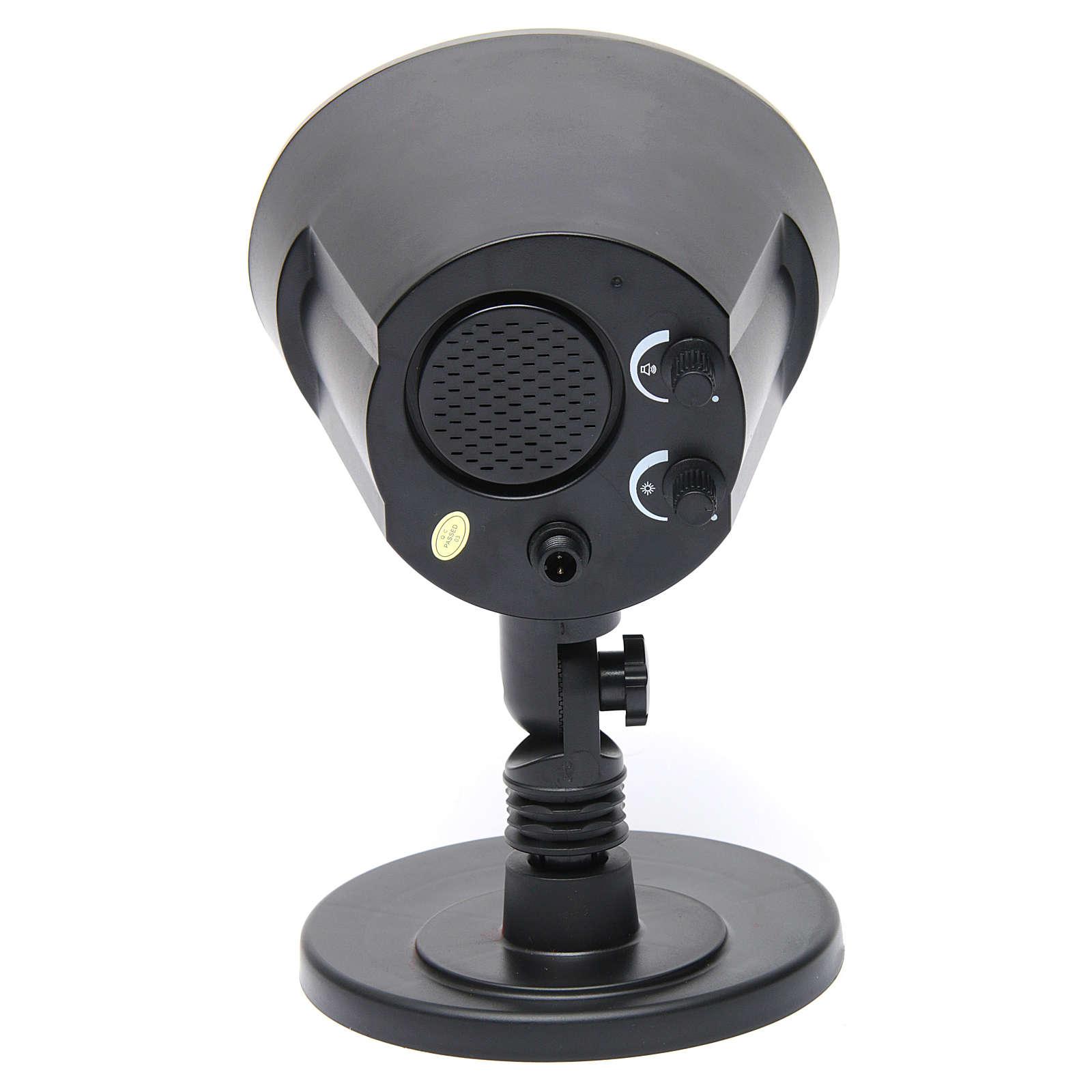 Relámpago y trueno sincronizado 116x138x99 mm para belén 4