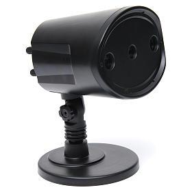 Relámpago y trueno sincronizado 116x138x99 mm para belén s2