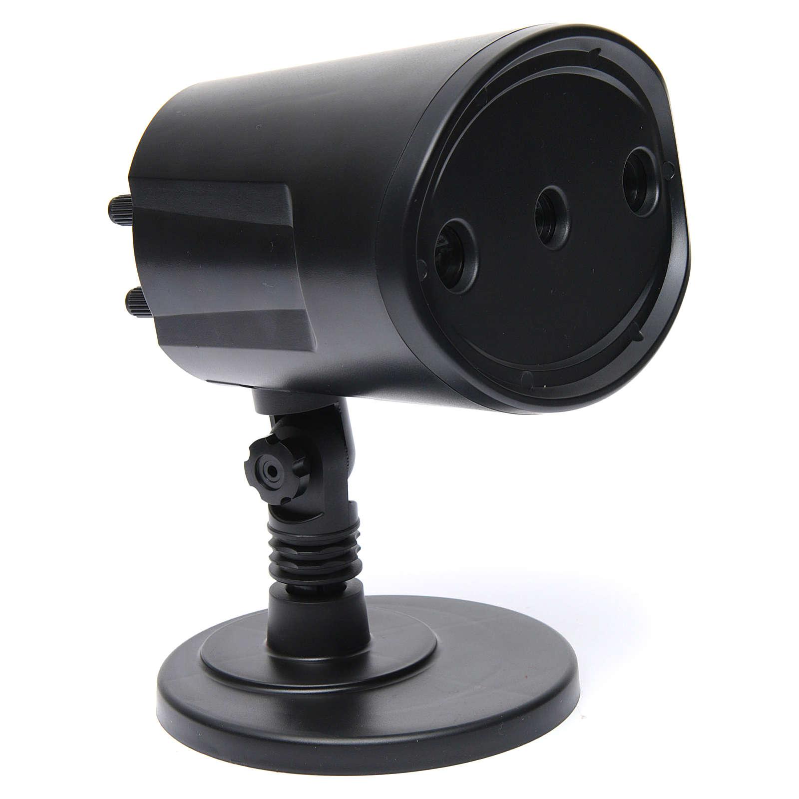 Lampo e tuono sincronizzato 116x138x99 mm per presepe 4