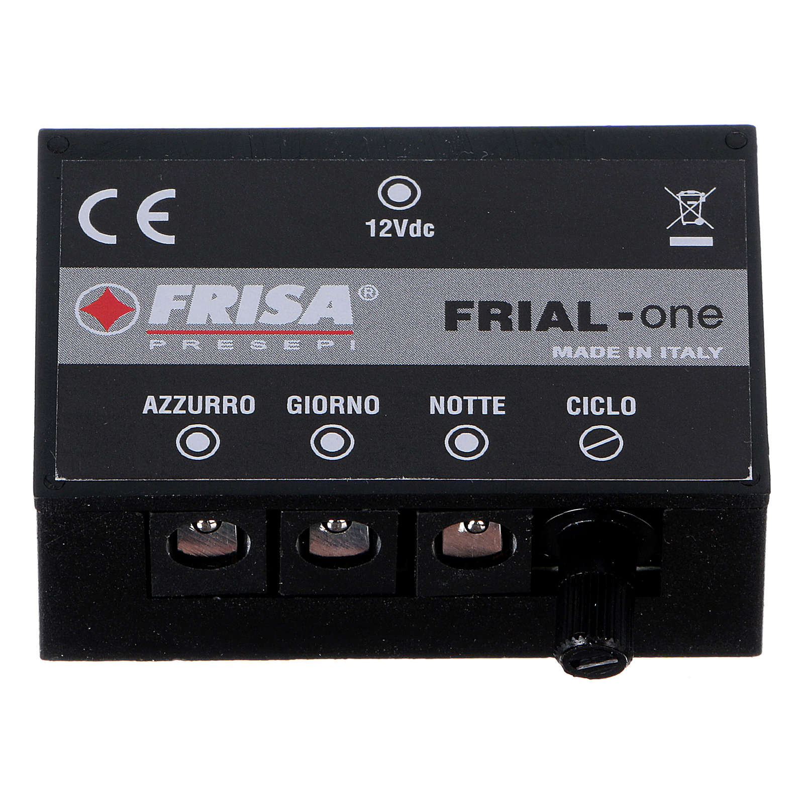Control unit Frial One Music 30 light blue LEDs 60 white LEDs with musical device for Nativity scene 4