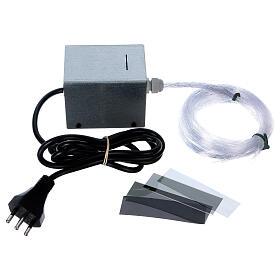 Controlador estrelas fibra óptica Light Filter 50 fios vários para presépio s3