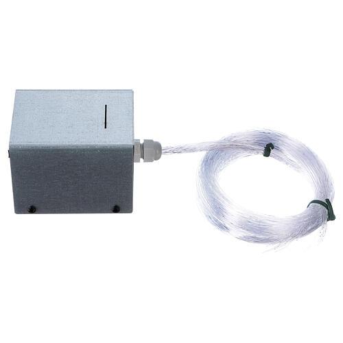 Controlador estrelas fibra óptica Light Filter 30 fios vários para presépio 1