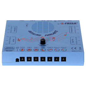 Control units and accessories for Nativity Scene: Natalino with sound effects, dawn, day, sunset and night fadings