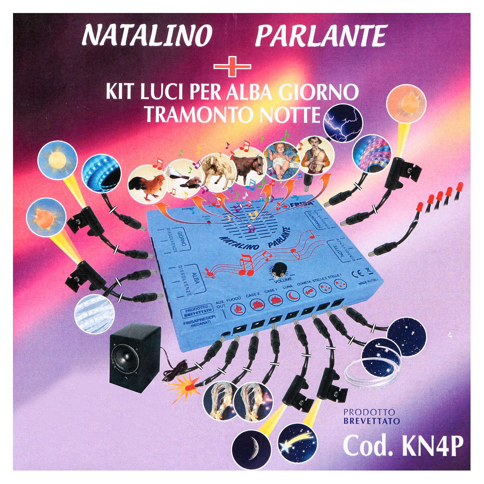 Natalino Parlante con Kit alba giorno tramonto notte 4