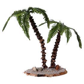 Doble palma h real 13-18 cm para belén s2