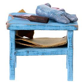 Swordfish vendor table, for 10 cm nativity s4