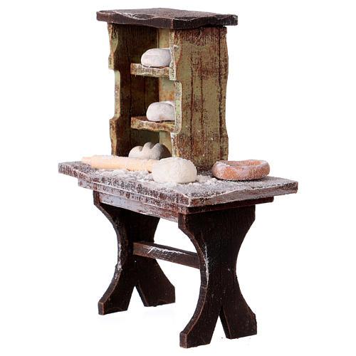 Banco del panettiere per statue da 12 cm 2