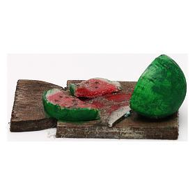 Tagliere anguria presepe napoletano 24 cm s3