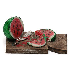 Cutting board with watermelon 24 cm, Neapolitan nativity s1
