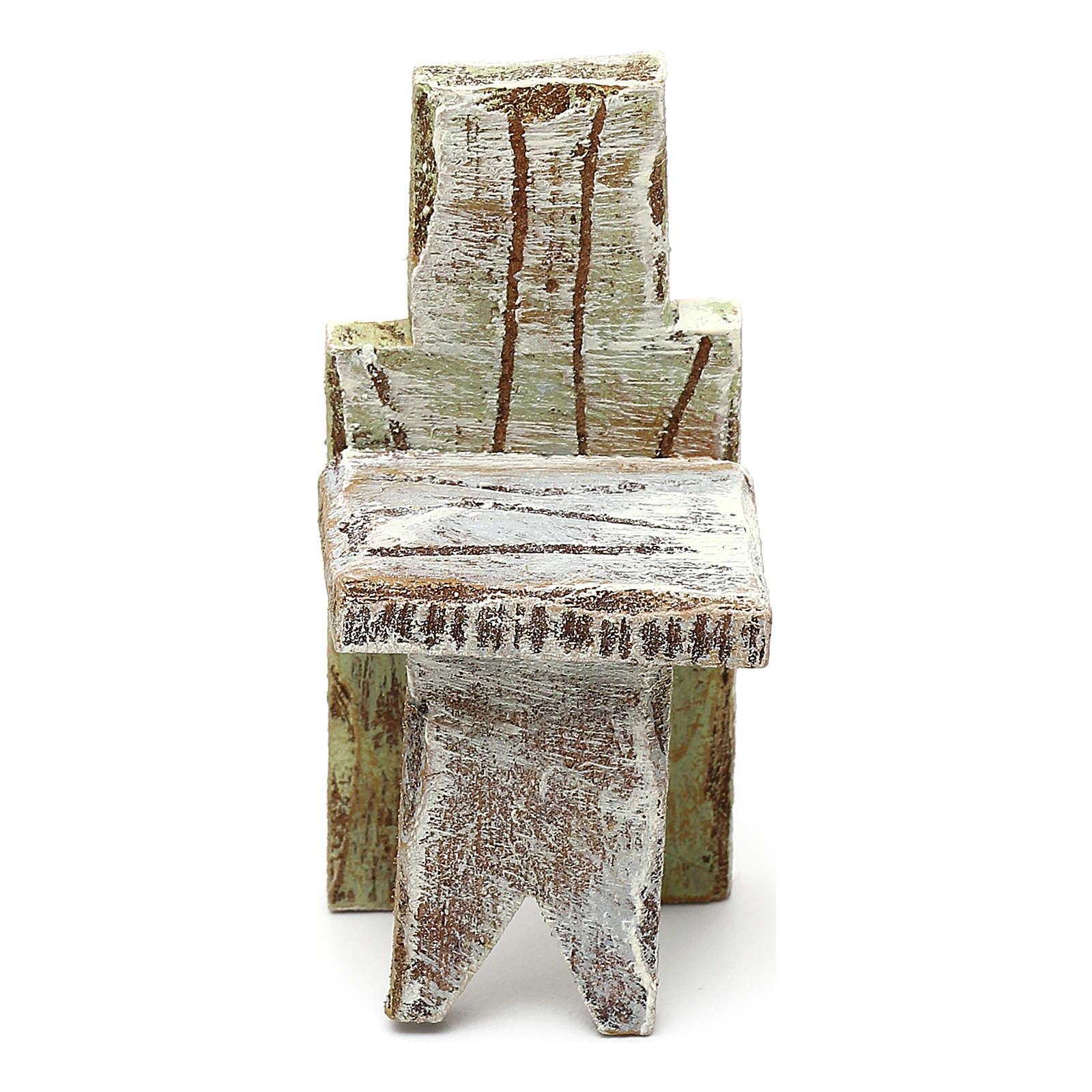 Silla simple belén 10 cm accesorio 5x3x3 cm 4
