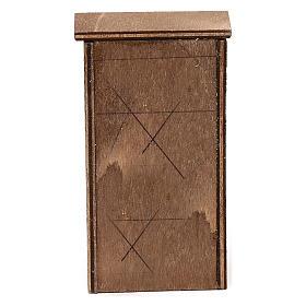 Mueble de madera belén napolitano 8-10 cm s4