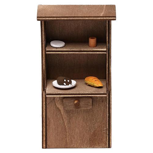 Mueble de madera belén napolitano 8-10 cm 1