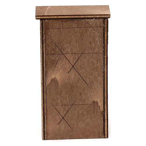 Mueble de madera belén napolitano 8-10 cm 4