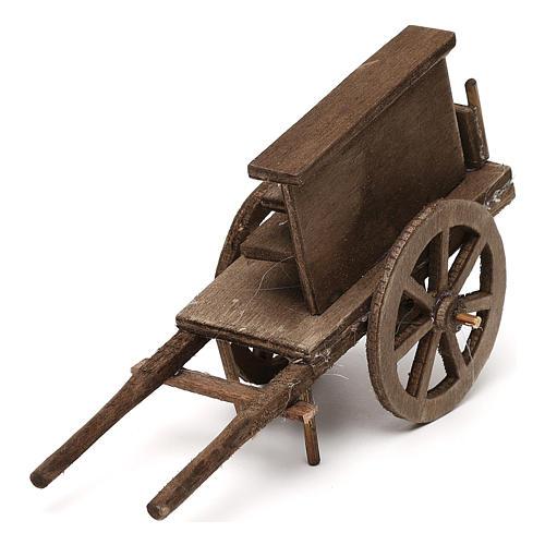 Selling wagon for Neapolitan Nativity scene 12 cm 2