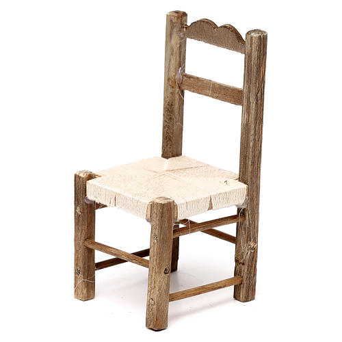 Set of 3 chairs for Neapolitan Nativity Scene 10/12/14 cm 2