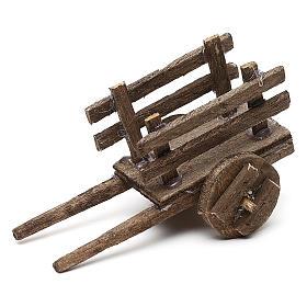 Set carretti in legno tre modelli presepe napoletano 4/6 cm s2