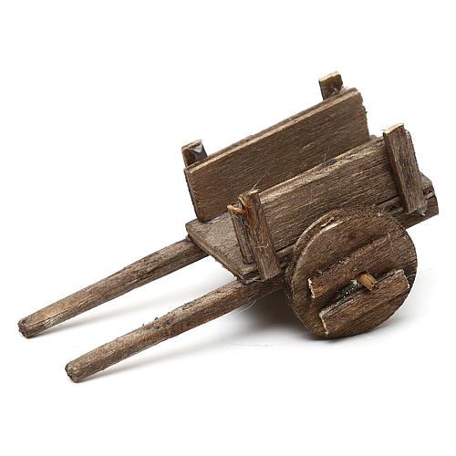 Set carretti in legno tre modelli presepe napoletano 4/6 cm 3