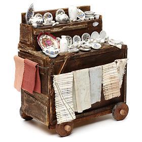 Cart with ceramic 18/22 cm s4