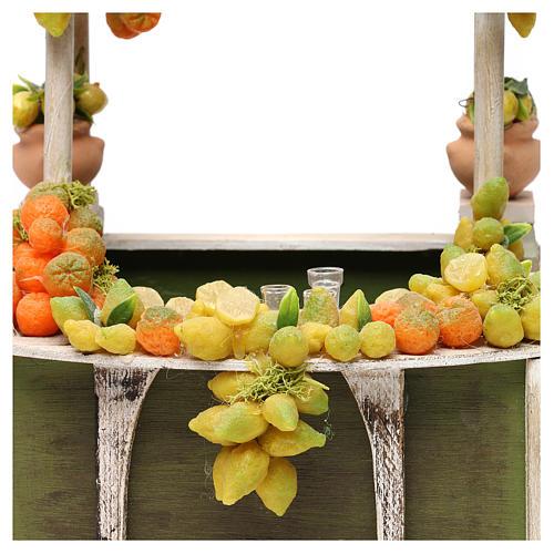 Banchetto limonata presepe napoletano 18/22 cm 2