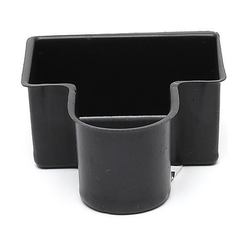 Vaschetta nera per fontana 4x8x10 cm modelli assortiti 1