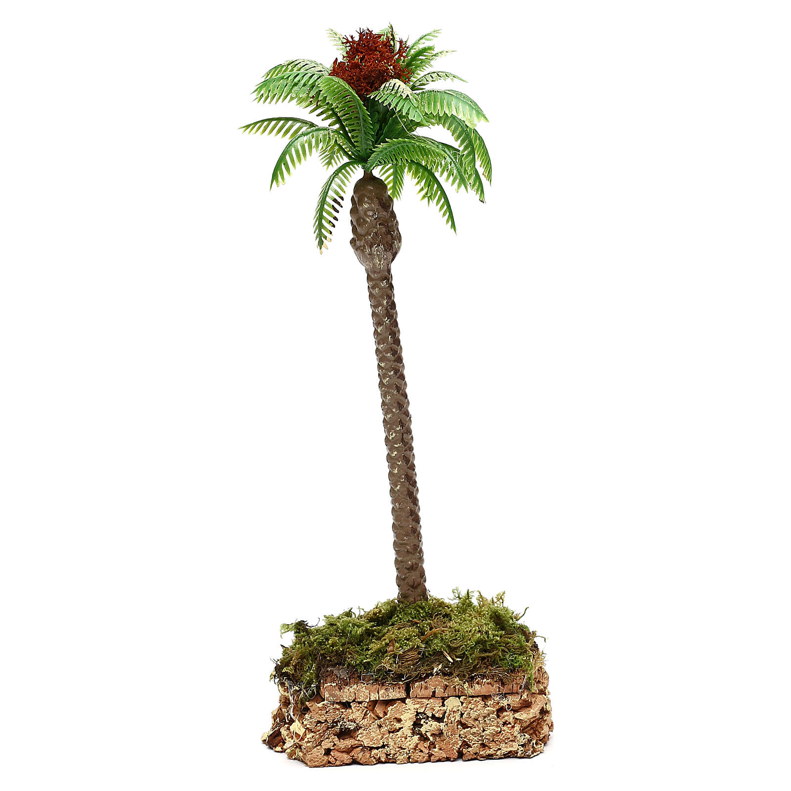 Palma con base in sughero h reale 20 cm 4
