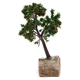 Árbol de naranja para belén h real 15 cm s2