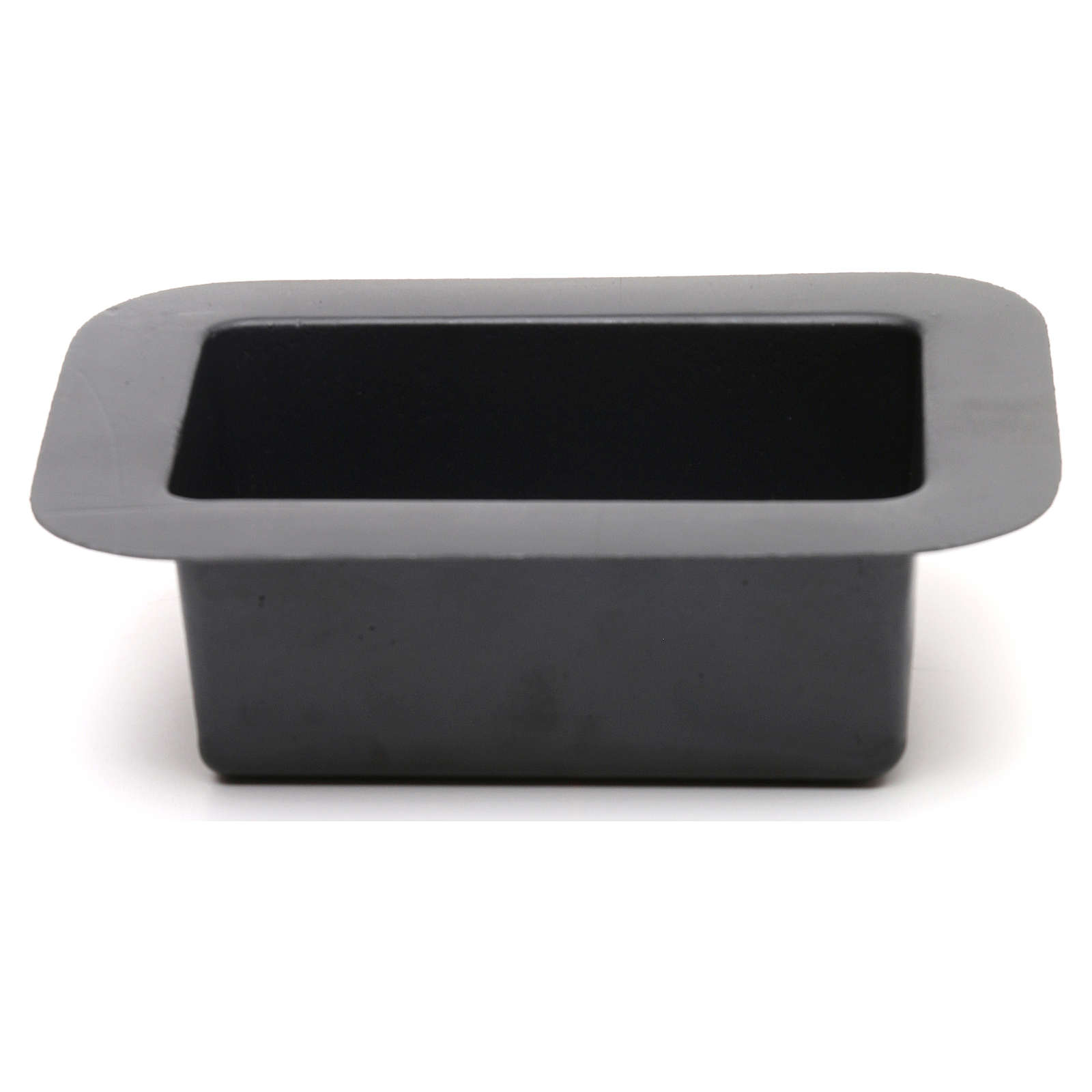Black bowl for Nativity scene fountain 5x15x10 cm 4