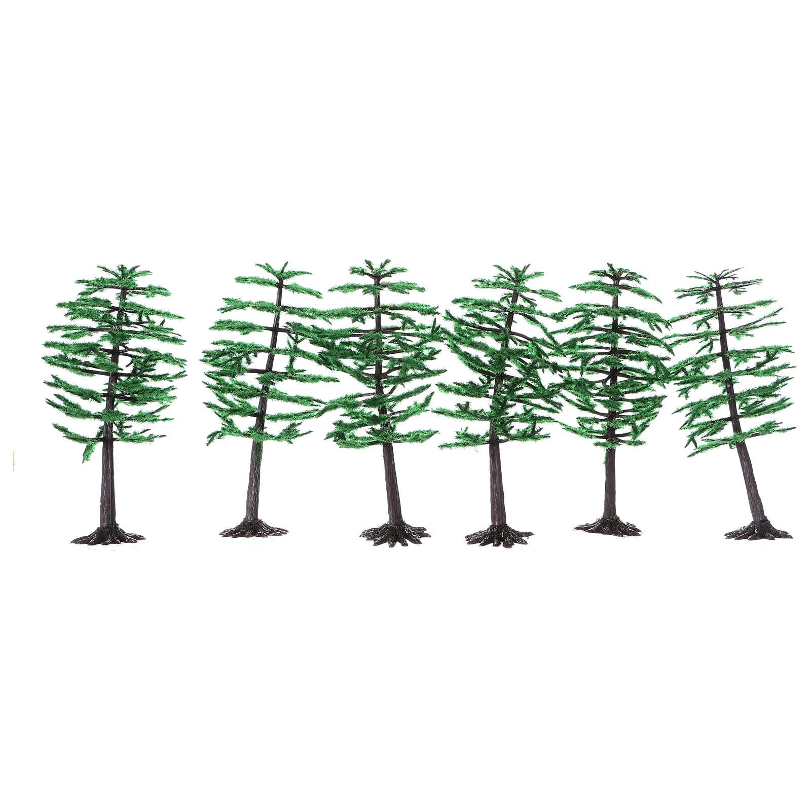 Pine for Nativity scene real height 15 cm 4