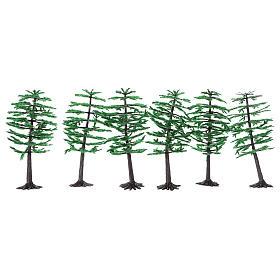 Pine for Nativity scene real height 15 cm s1