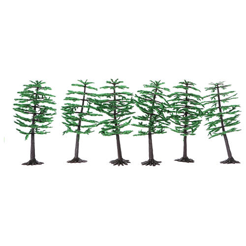 Pine for Nativity scene real height 15 cm 2