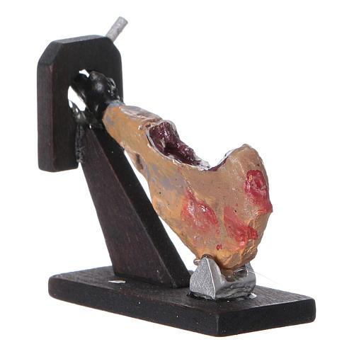 Ham figurine for DIY nativity, real h 4 cm 2