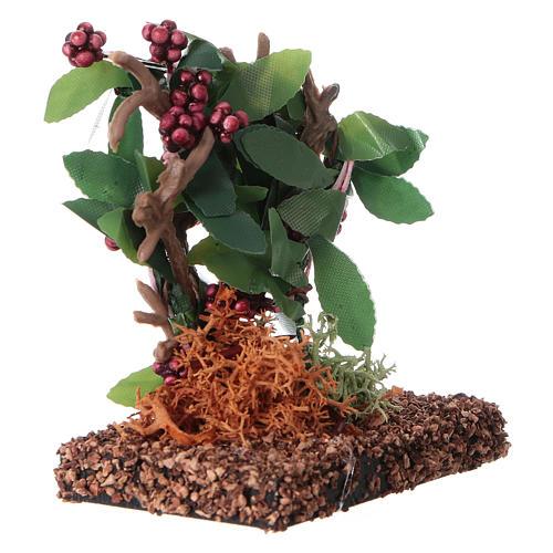 Grappes de raisin pour bricolage de crèche h réelle 7 cm 3