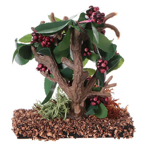 Bunch of grapes figurine for DIY nativity, real h 7 cm 4