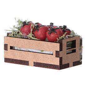 Box with tomatoes 5x5x5 cm s2