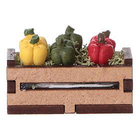 Caisse de poivrons 5x5x5 cm s1