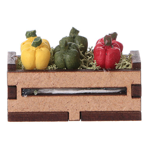Caisse de poivrons 5x5x5 cm 1