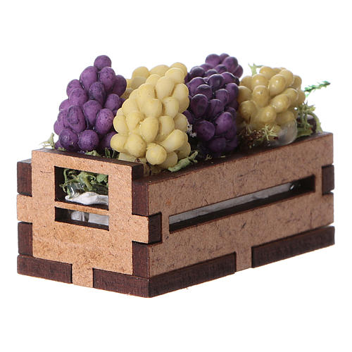 Box with grapes 5x5x5 cm 2