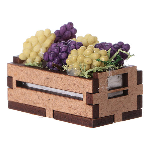 Box with grapes 5x5x5 cm 3