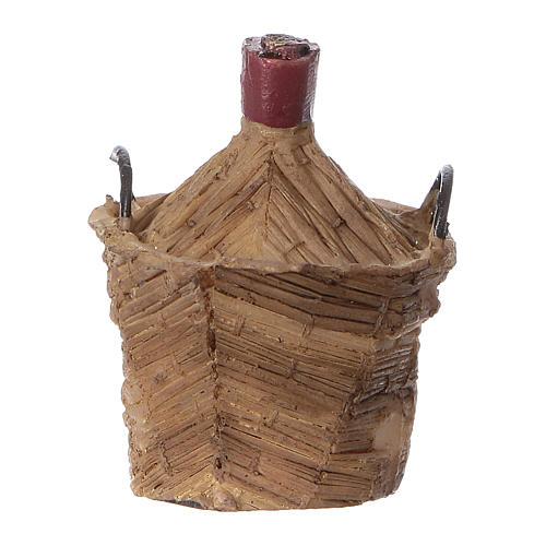 Gąsior pleciony z żywicy 5x5x5 cm 1