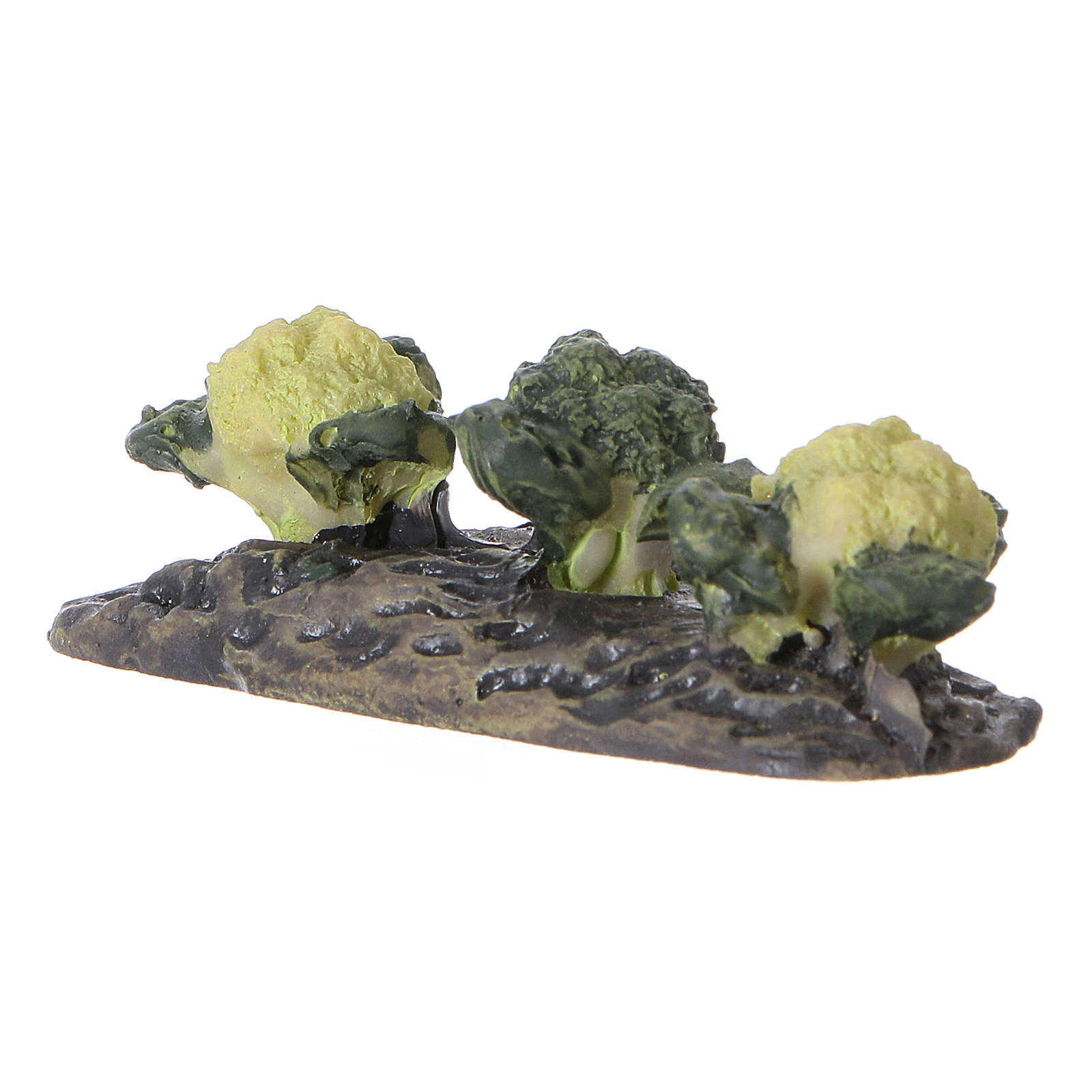 Row of cabbage figurine, in resin 5x5x5 cm 4