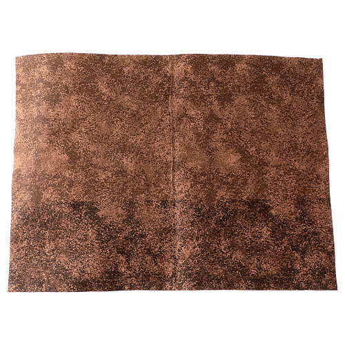 Mouldable brown rock paper, dimensions 50x70 cm 1