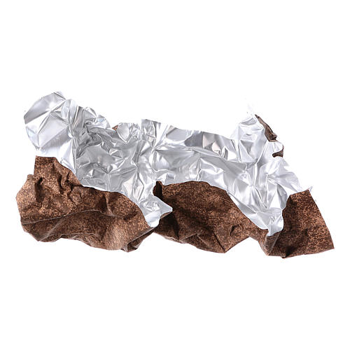 Mouldable brown rock paper, dimensions 50x70 cm 4